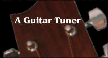 free guitar tuning with a microphone a guitar tuner. Black Bedroom Furniture Sets. Home Design Ideas